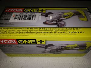 RYOBI 18-Volt ONE Cordless Brushless 4-1/2 in. Cut-Off Tool/Angle Grinder for Sale in Chicago, IL