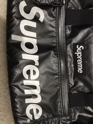 Supreme Cordura S17 Duffle Bag (black) 3M Reflective Box Logo $180 or best offer for Sale in Clifton, VA