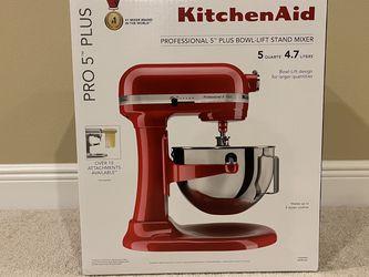 KitchenAid Professional 5 Quart Stand Mixer KV25G0X Brand New Red for Sale in Orlando,  FL