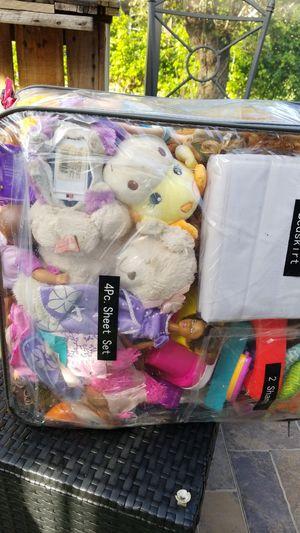 Bag full of different toys for girls for Sale in Homestead, FL