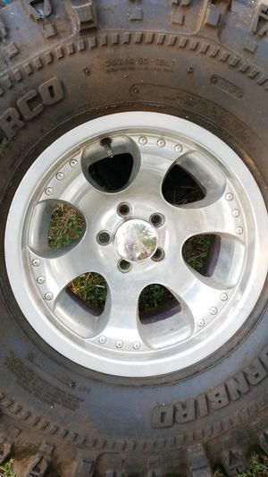 Jeep wheels and tires for Sale in Murfreesboro, TN