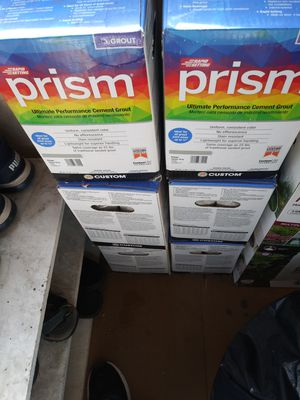 Prism grout for Sale in Richmond, CA