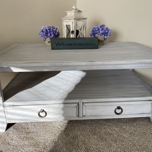 Custom Finished Shabby Chic Coffee Table for Sale in Carbonado, WA