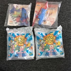 Sealed Vintage Burger King Toys (Pokémon Power 2000) for Sale in Newport Beach, CA