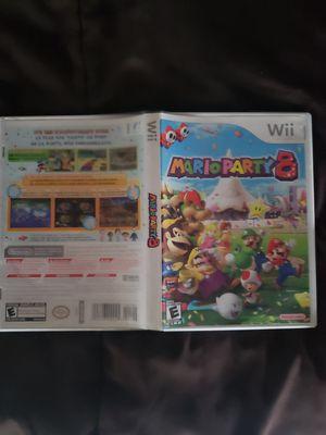 Mario Party 8 Case And Manual No disc for Sale in Camarillo, CA