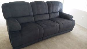 Couch with 2 built in recliners. Barely used for Sale in Las Vegas, NV
