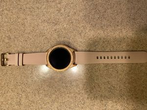 Samsung Galaxy Watch Rose Gold 42 mm for Sale in Cibolo, TX