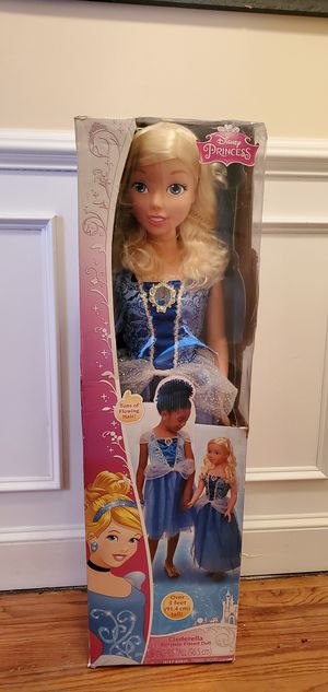 """Disney princess Cinderella doll 38"""" tall for Sale in Baltimore, MD"""