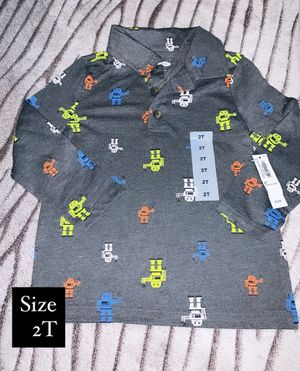 Toddler boy long sleeve size 2t for Sale in South Gate, CA
