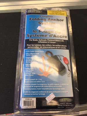 Complete Folding Anchor system for Sale in Washington, DC