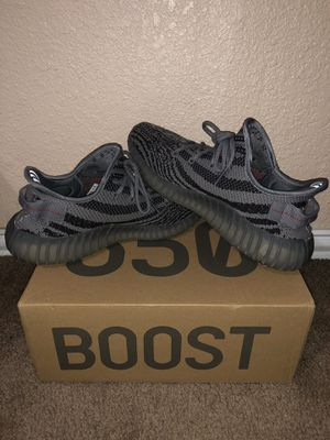 """USED ADIDAS YEEZY BOOST 350 V2 """"BELUGA 2.0 SIZE 9.5 MEN for Sale in Dallas, TX"""