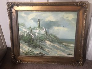 Lighthouse oil painting for Sale in Tallahassee, FL