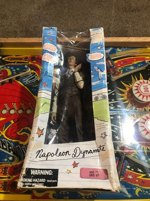 Napoleon Dynamite rare figure in Original Box McFarlane Toys, 12 inch, 2005 for Sale in Eagle, WI
