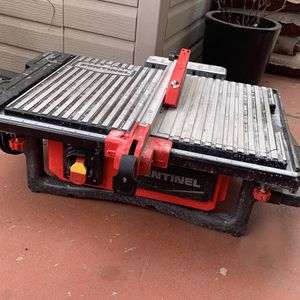 Sentinel Table Tile Saw for Sale in Scottsdale, AZ