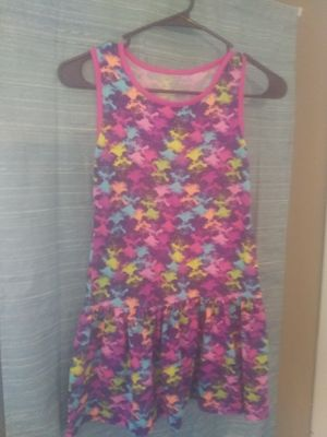 Girls size 7/8 trolls summer dress for Sale in Waterville, ME