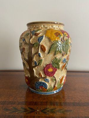 Staffordshire Hand Painted Vase for Sale in Lake Worth, FL