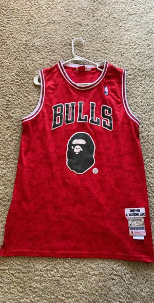 Bape x bulls jersey for Sale in Lake Forest, CA