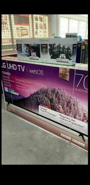 💎💎LG💎 UHD 70💎💎Brand new TVs in the box ps4🎀 down payment $39 no credit 🎀 finance🎀 AVAILABLE for Sale in Houston, TX