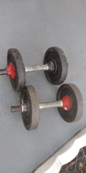 Adjustable Dumbbell Weight Set 2x20lb for Sale in Clearwater, FL