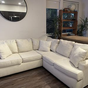 Pending Pickup - Free White Sectional for Sale in San Jose, CA