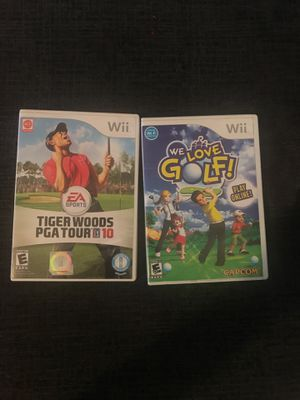 Golf wii games for Sale in Delray Beach, FL