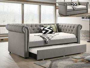 New Grey Twin/Twin Day Bed for Sale in Austin, TX