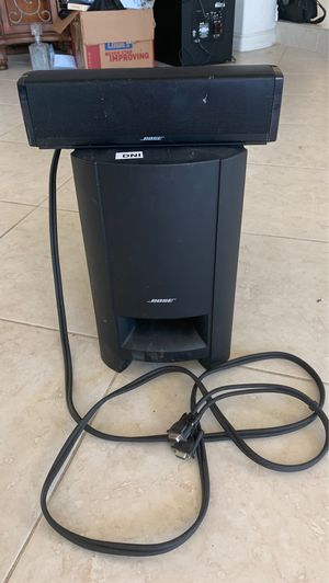 Bose cinemate 15 digital home theater speaker system no remote for Sale in Anaheim, CA