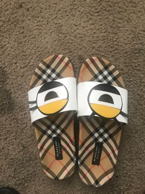 Burberry slides for Sale in Balch Springs, TX