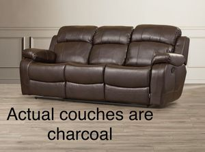 Leather Couch & Loveseat - New Condition! for Sale in Falls Church, VA