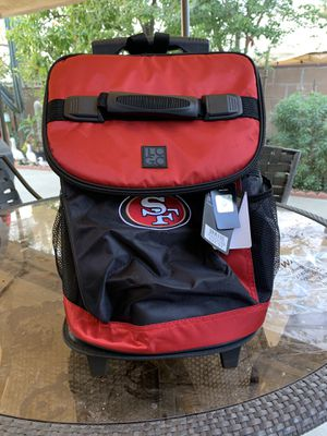 49ers Cooler w/wheels for Sale in Los Angeles, CA