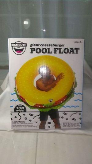 Giant Cheeseburger Pool Float for Sale in Denver, CO