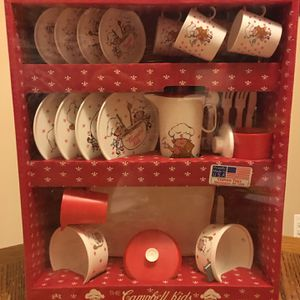 1992 The Campbell Kids Chilton Toys Pretend Dinning Play Set for Sale in Livonia, MI