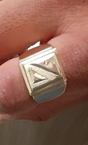 18k mens gold ring. for Sale in Portland, OR