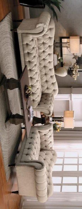St.CLAIRE BEIGE LIVING ROOM SET for Sale in Houston, TX