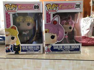 Funko pop sailor moon and sailor chibi moon for Sale in Garden Grove, CA