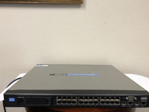 Linksys (SRW224P) 24-Ports Rack-Mountable Ethernet Switch for Sale in Beaverton, OR
