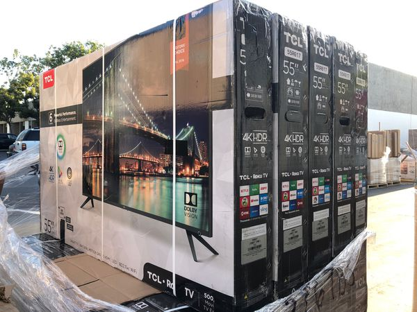 55R617 55 TCL Roku Smart 4k led uhd hdr Tv