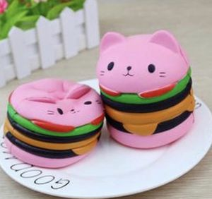 Cat hamburger squishy for Sale in La Puente, CA