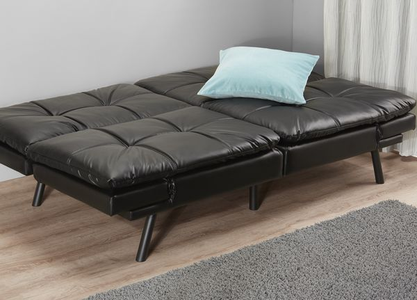 Faux Leather Futon (Sofabed)