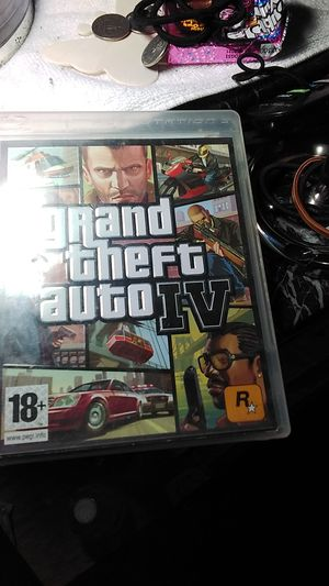 GRAND THEFT AUTO 4 PLAY STATION 3 NP SCRATCHES for Sale in Anaheim, CA