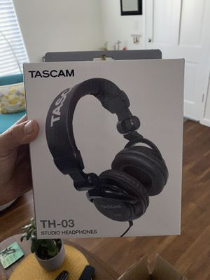 TASCAM TH-03 studio monitor headphones (NEW) for Sale in San Diego, CA