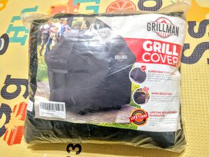 Grillman Premium (58 Inch) BBQ Grill Cover, Heavy-Duty Gas Grill Cover For Weber, Brinkmann, Char Broil etc. Rip-Proof , UV & Water-Resistant for Sale in Malden, MA