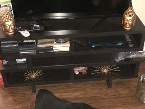 Chocolate Finish Tv Stand for Sale in Lawrenceville, GA