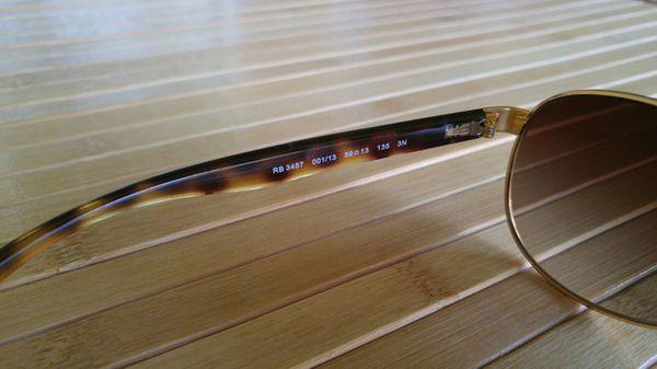 9e2f99778a Ray-Ban RB 3457 001 13 59 Sunglasses for Sale in Conroe
