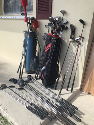 70 pcs Golf Clubs for Sale in West Palm Beach, FL
