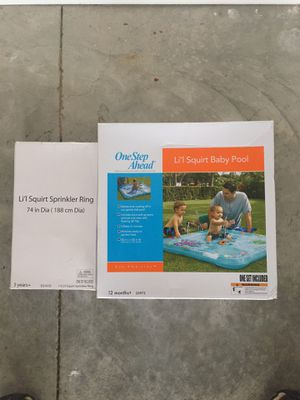 One Step Ahead Li'l Squirt sprinkler pools for Sale in Clairton, PA