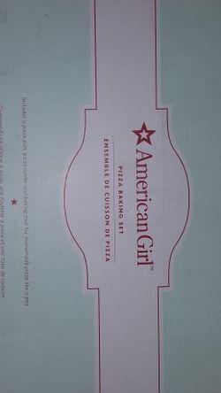 America Girl Pizza Set for Sale in Mount Hamilton,  CA