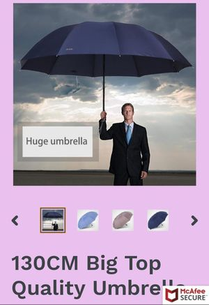 High Umbrella for Sale in Perris, CA