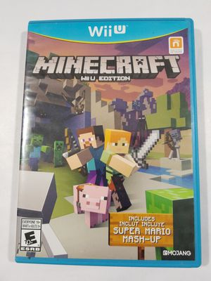 Minecraft: Wii U Edition (Nintendo Wii U, 2016) Complete/ Fast Shipping for Sale in Winter Springs, FL
