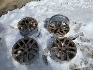 Wheels rims 4x 18 inch rose gold for Sale in Alexandria, VA